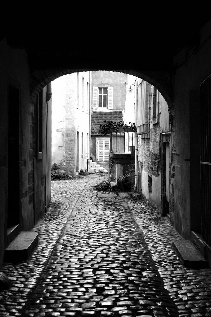Dijon - Passage du centre-ville
