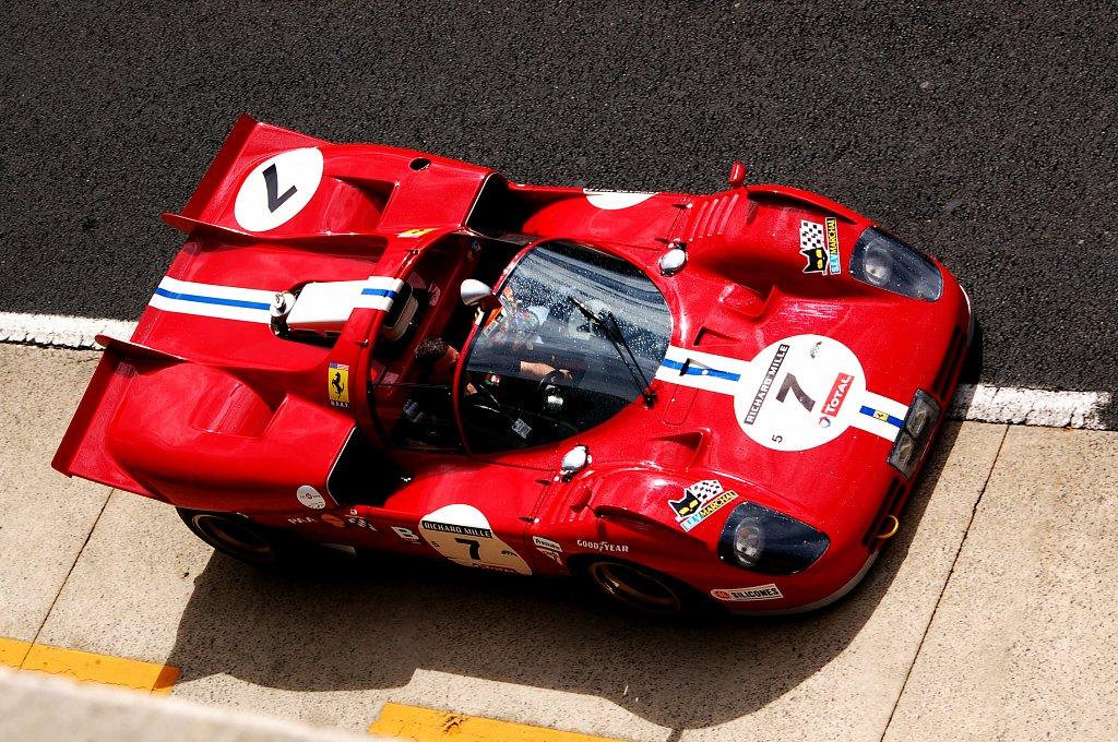 Ferrari 512 - Le Mans Classic 2012