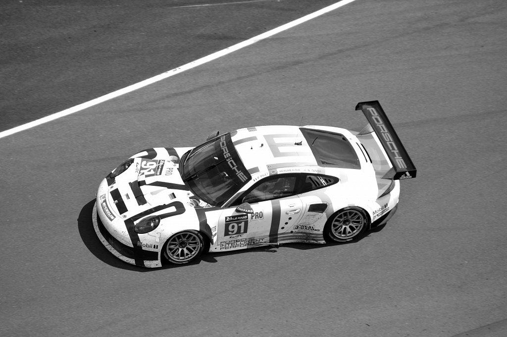 PORSCHE 911 RSR - N°91 - 24 Heures du Mans 2014