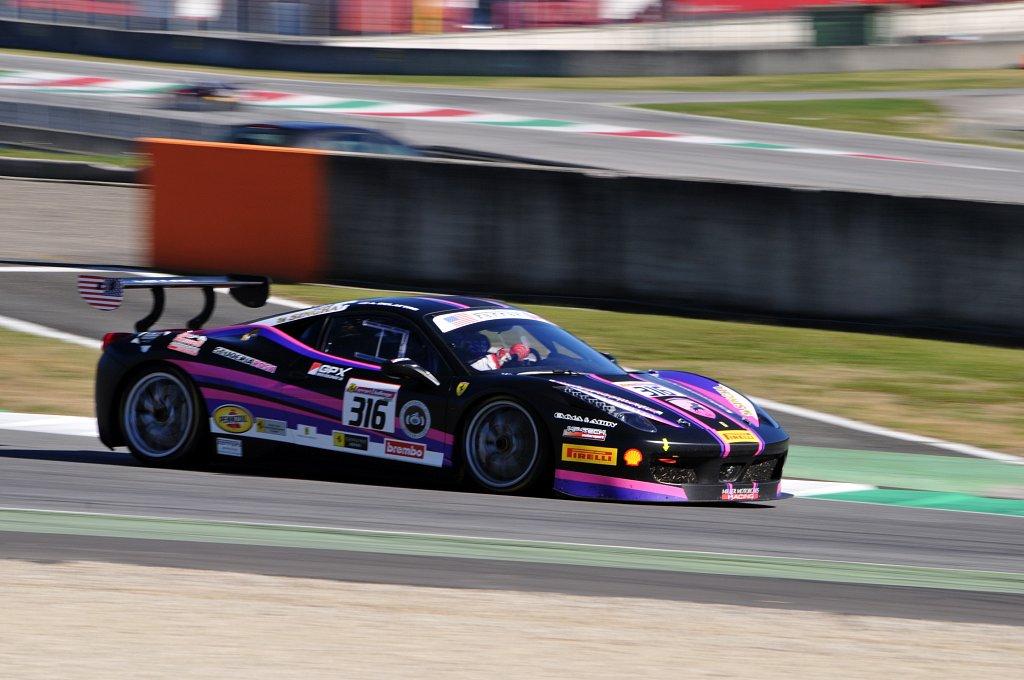 Ferrari 458 Challenge - Mugello 2015