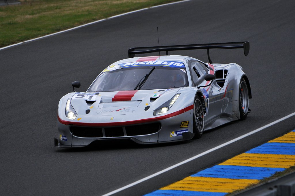 Road to Le Mans 2016 - Ferrari 488 GTE N°51