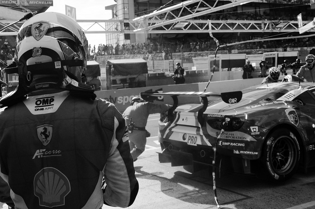 24 Heures du Mans 2017 - Davide Rigon - #71 AF Corse Ferrari 488 GTE