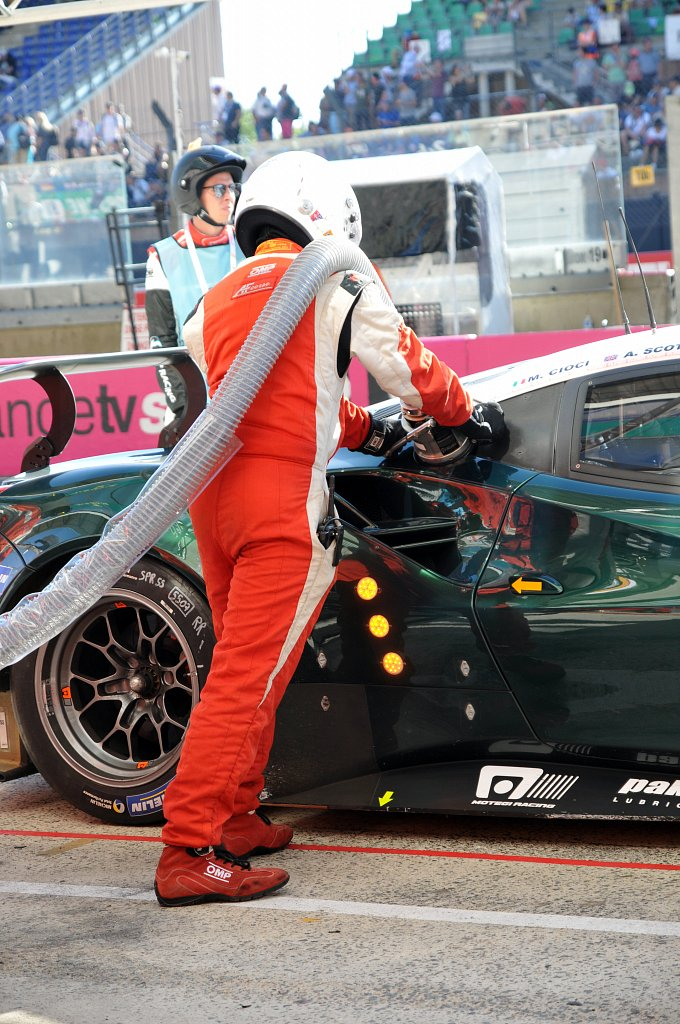 24 Heures du Mans 2017 - #55 Spirit of Race Ferrari 488 GTE