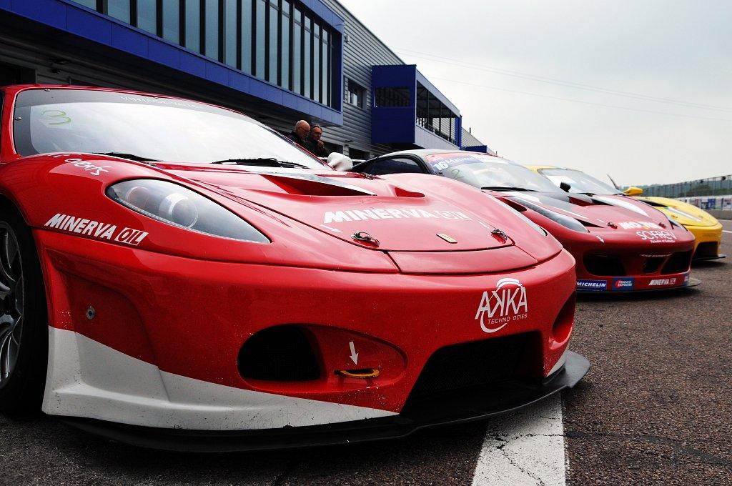 Dijon Prenois - Trio Ferrari 458 & F430 GT3 - 05/2018