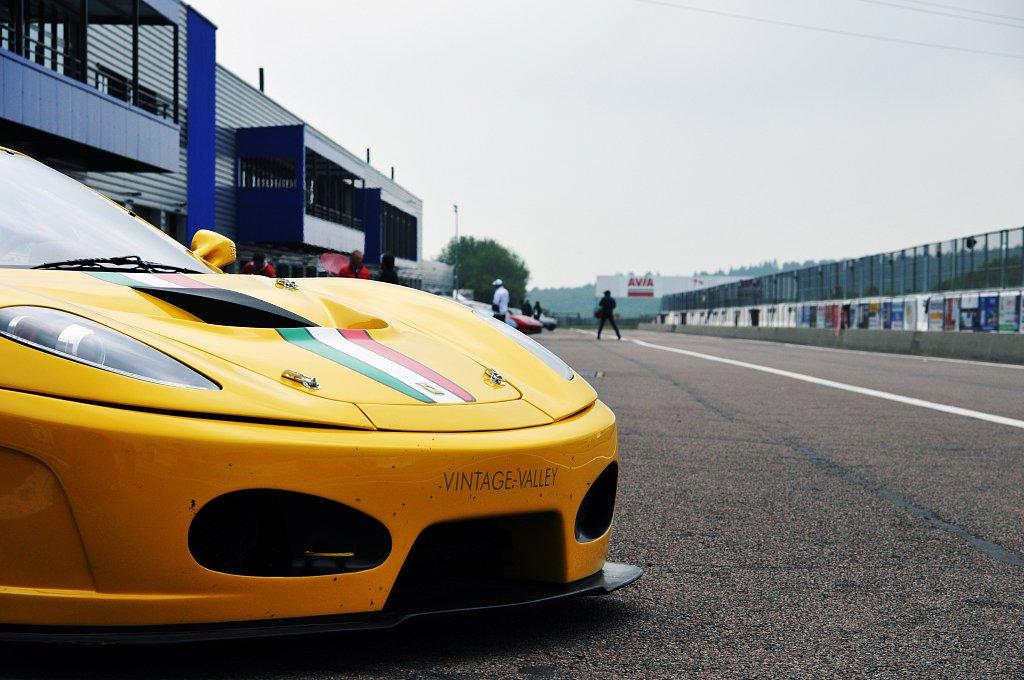 Dijon Prenois - Ferrari F430 GT3 - Pit Lane - 05/2018